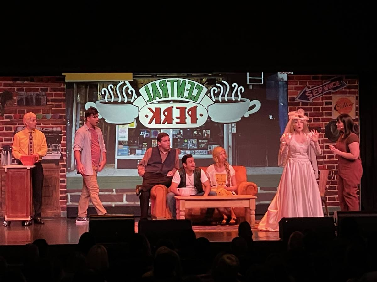"""""""Friends! A Musical Parody"""" performs its first show in 505 days at Circus Maximus in Atlantic C ..."""
