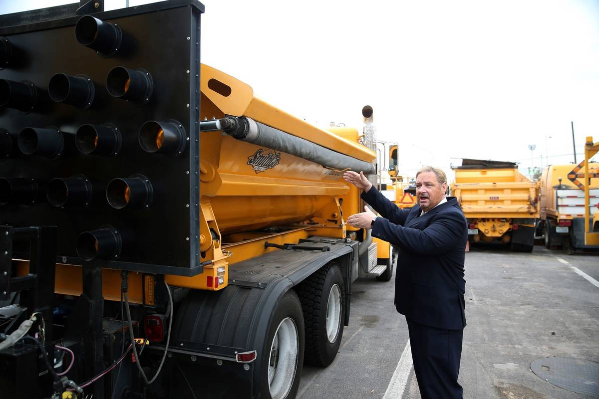 Tony Illia, spokesman for the Nevada Department of Transportation, talks about their multi-purp ...