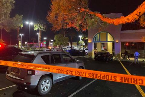 Las Vegas police are investigating a fatal stabbing at a west Las Vegas hookah lounge on West S ...