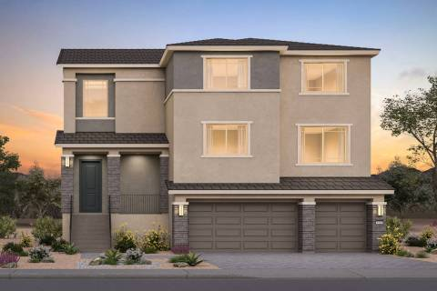 At 4,820-plus square feet, the five-bedroom Shelby plan impresses with a variety of places to g ...