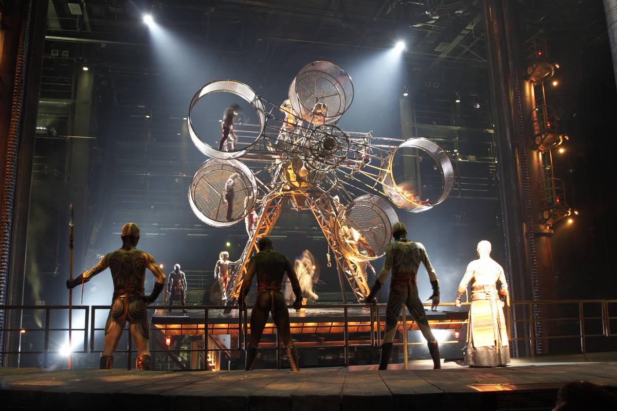 Cirque pumps the brakes on 'Ka' return at MGM Grand