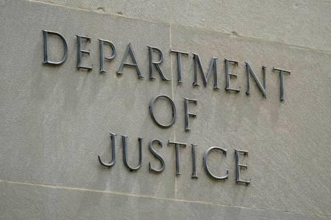 Robert F. Kennedy Department of Justice building in Washington. (AP Photo/Patrick Semansky)