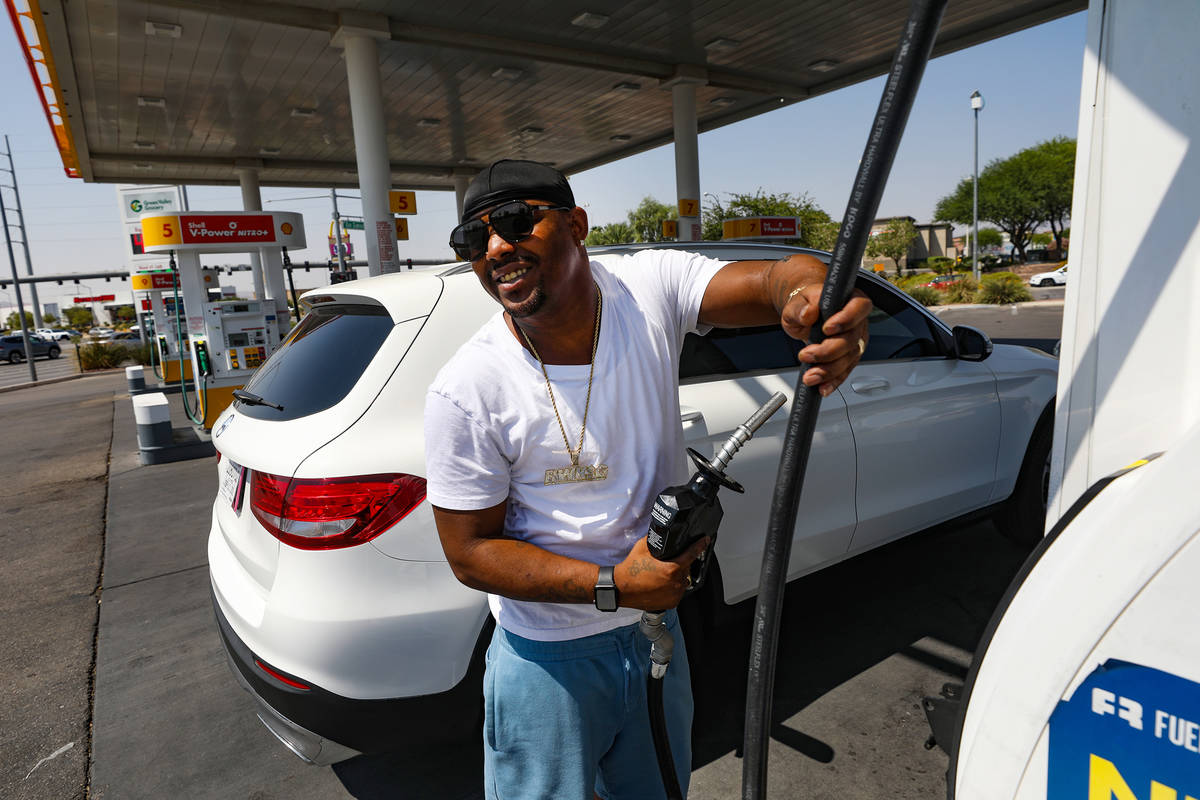 Gas prices top $4 a gallon in Nevada, now third-highest in U.S.