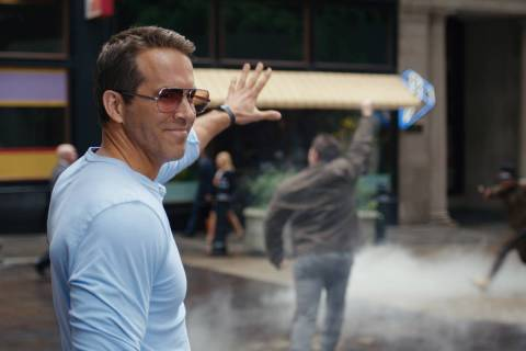 "Ryan Reynolds as Guy in 20th Century Studios' ""Free Guy."" (20th Century Studios/Twentieth Cen ..."