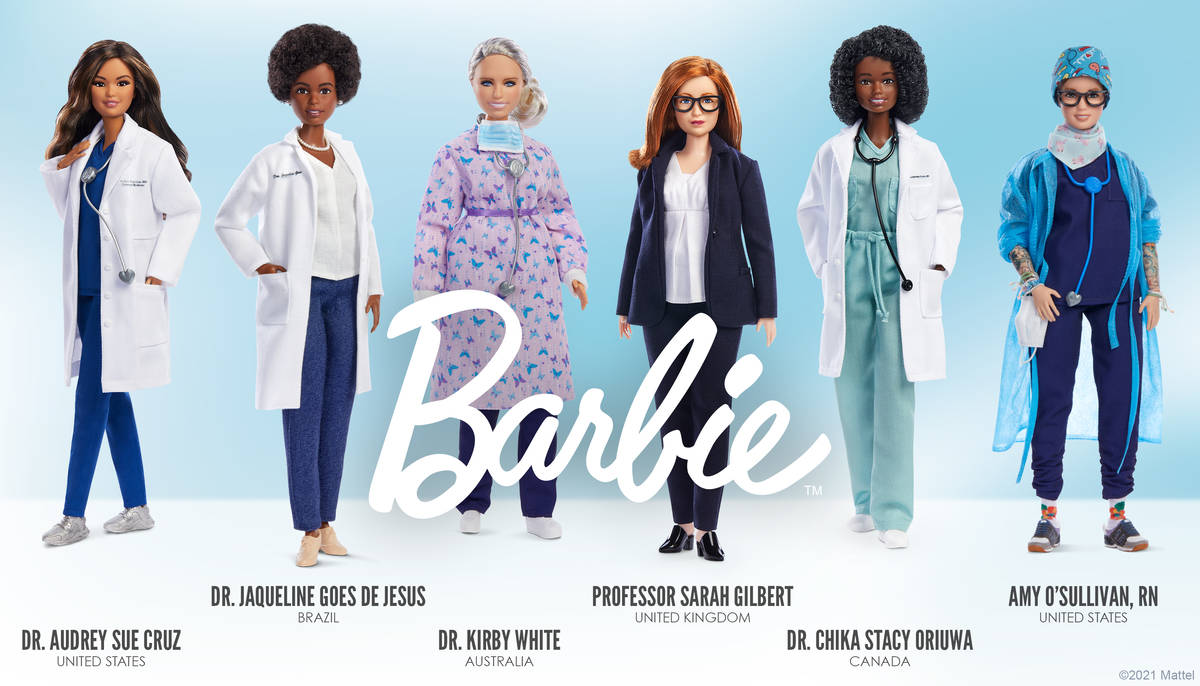 Barbie announced that the brand is spotlighting six women who are modern real-life heroes of th ...