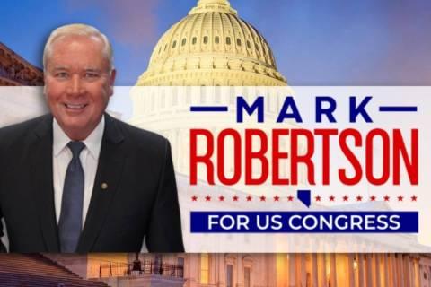 Retired U.S. Army Col. Mark Robertson (robertsonforcongress.com)