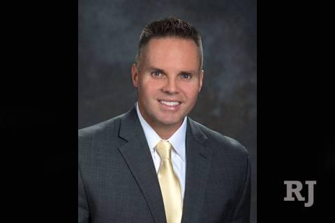 Brian Killingsworth, Vegas Golden Knights' senior vice president and chief marketing officer. ( ...