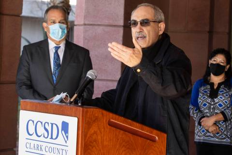 John Vellardita, executive director of the Clark County Education Association, said Friday the ...