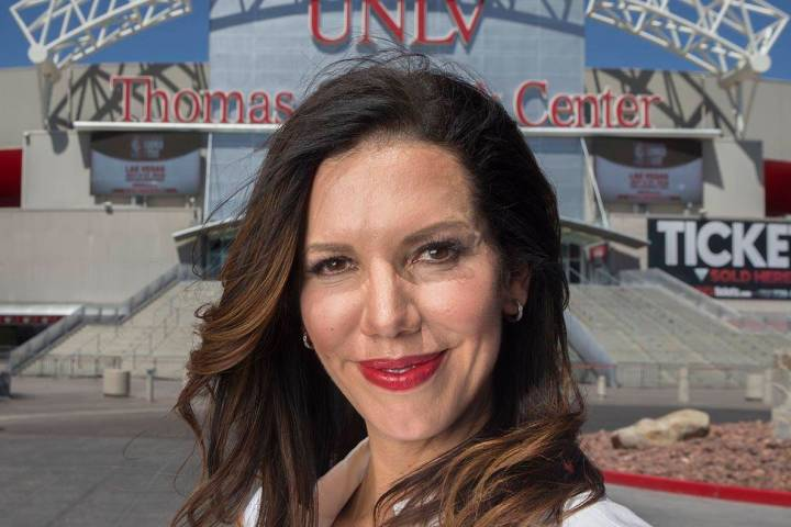 UNLV athletic director Desiree Reed-Francois at the Thomas & Mack Center on Thursday, June ...