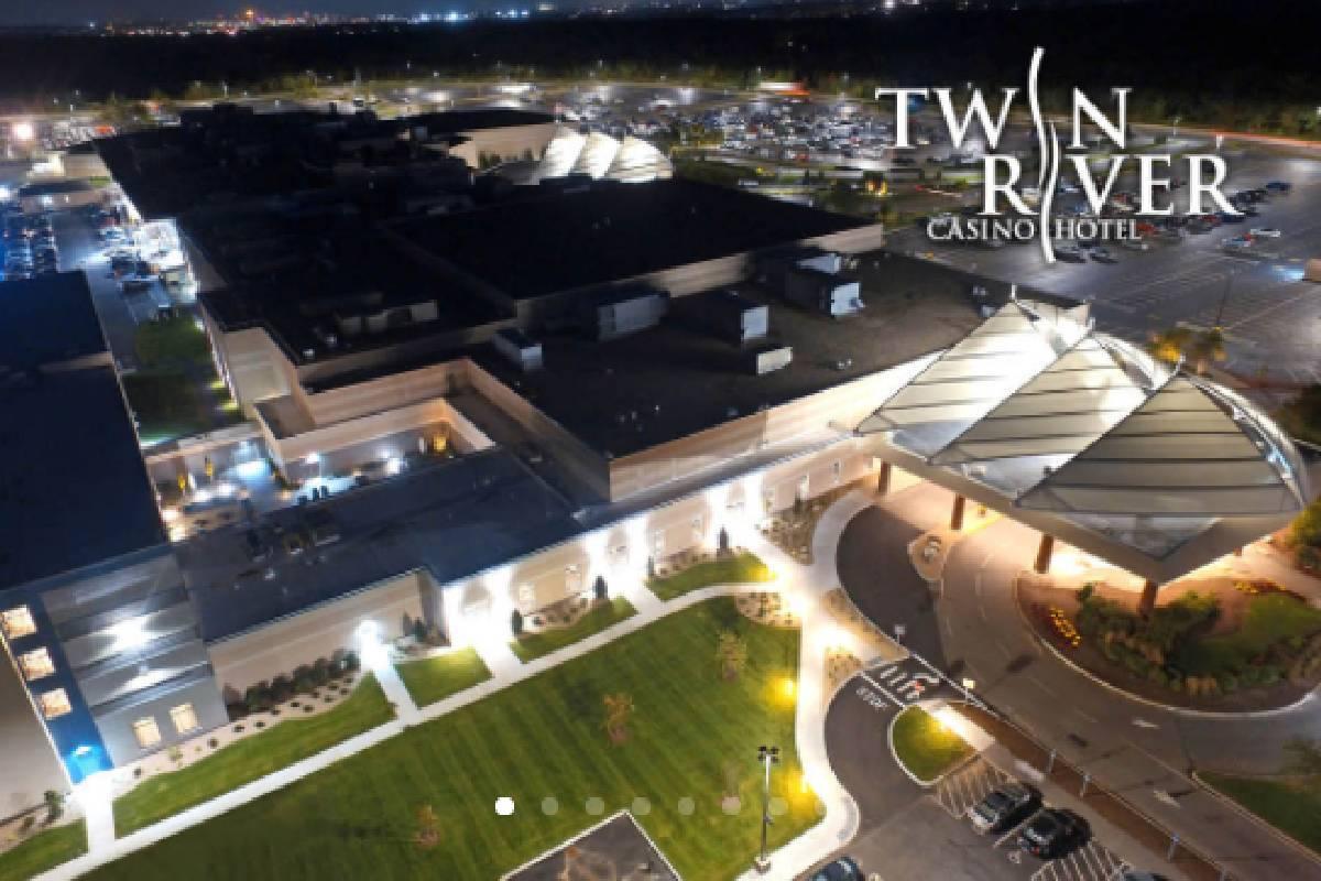 The Twin River Casino Hotel in Lincoln, Rhode Island. (Courtesy, Bally's Corp.)