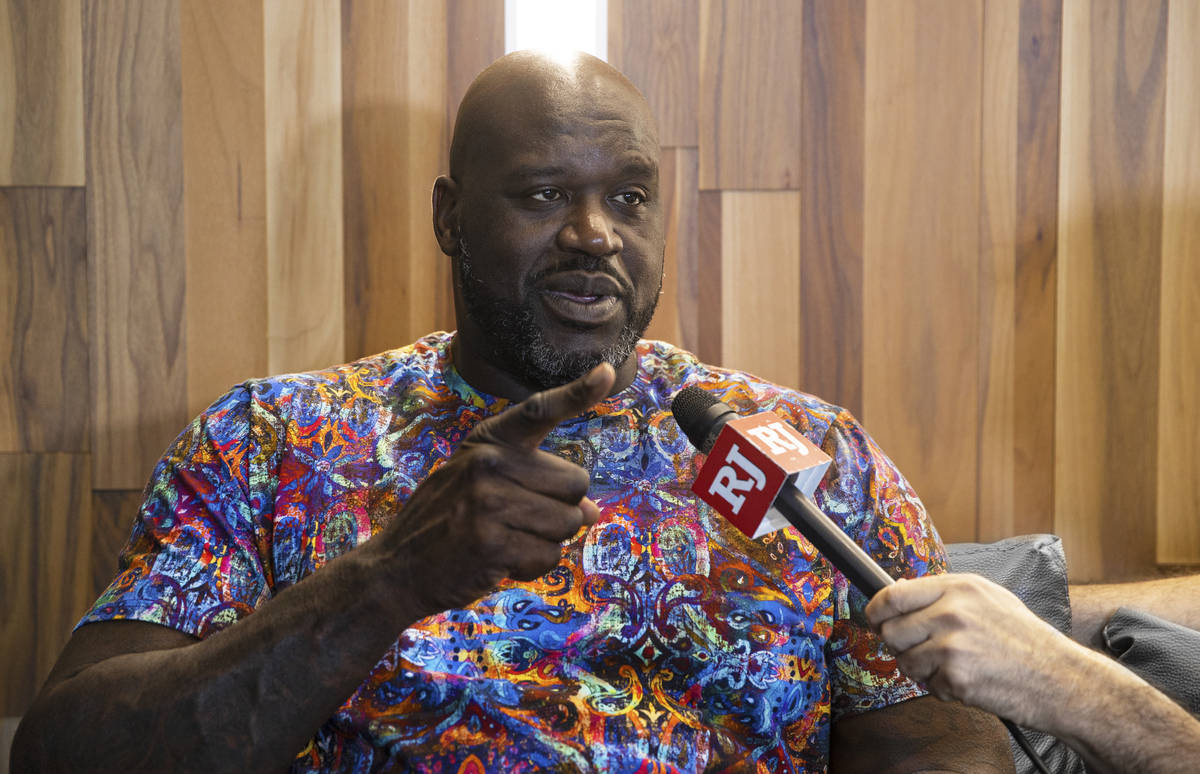 """NBA legend Shaquille O'Neal talks about his upcoming charity gala """"The Event,"""" fe ..."""