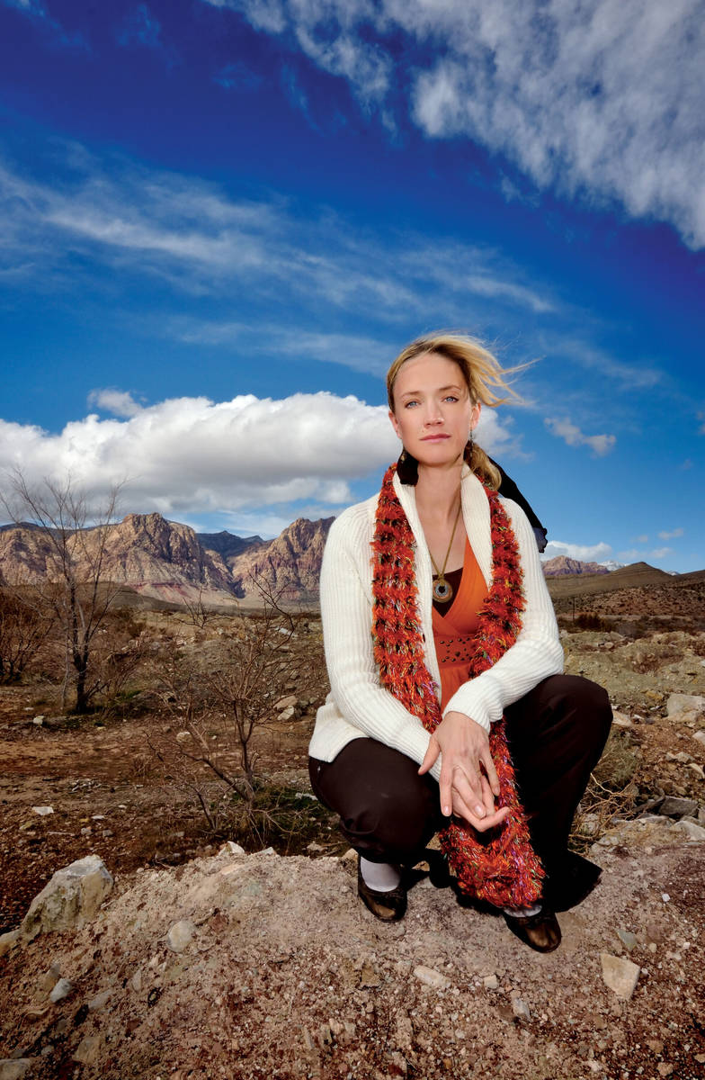 Heather Fisher, seen in 2011, is president of Save Red Rock. (Las Vegas Review-Journal)