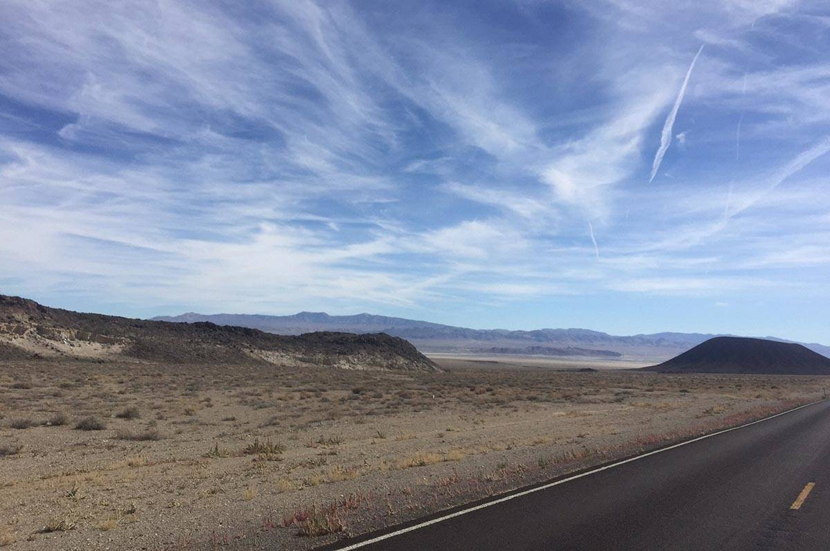 A view from the Tonopah Lithium Project property looking south. Lithium is a key component in b ...