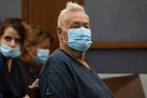 Arnoldo Sanchez, 78, accused of shooting two women to death and critically wounding a third per ...