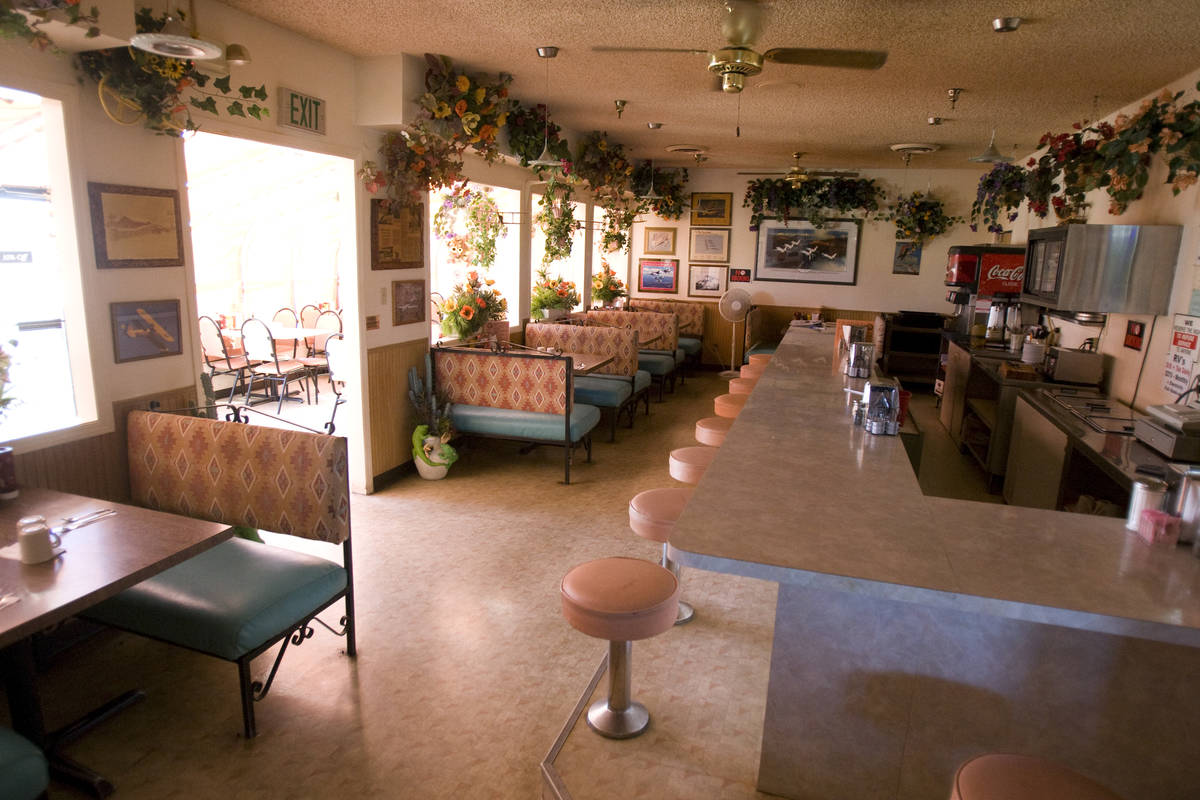 The cafe is shown at Cal-Nev-Ari casino Wednesday, July 7, 2010. (K.M. Cannon/Las Vegas Review- ...