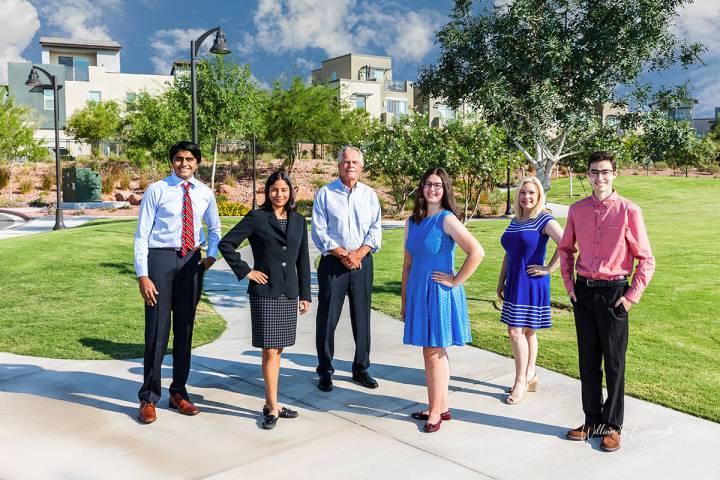 Four Summerlin high school graduates are 2021 recipients of the Summerlin Children's Forum sc ...