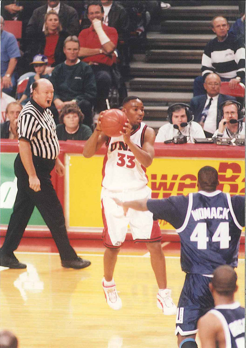 Wes Reed, a former UNLV basketball player who went on to become a coach, mentor and fixture in ...