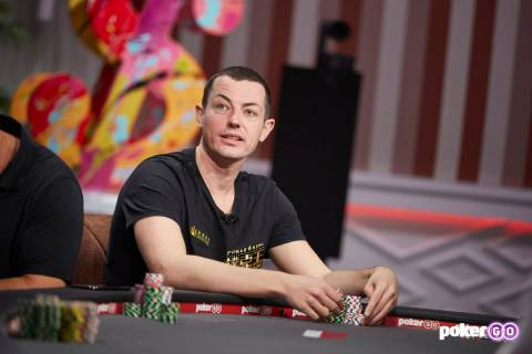 """Tom Dwan will play on upcoming episodes of """"High Stakes Poker"""" on PokerGO. (PokerGO)"""