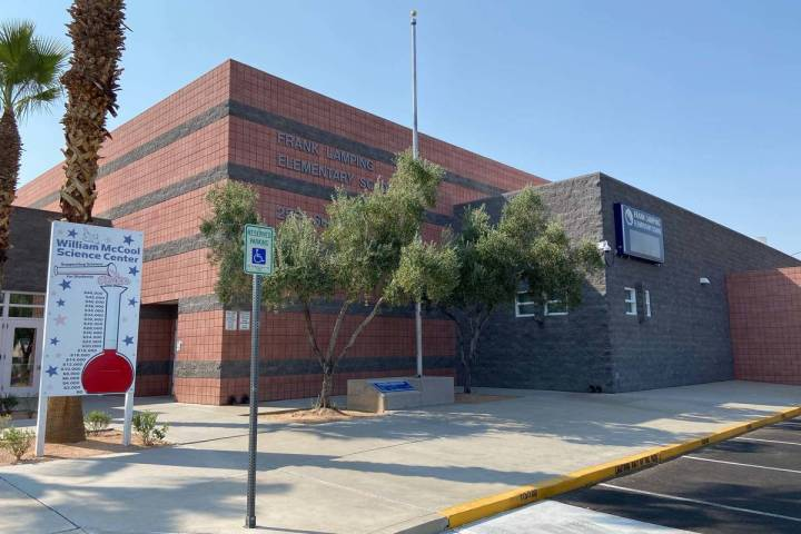 Lamping Elementary School in Henderson (Michael Quine/Las Vegas Review-Journal)