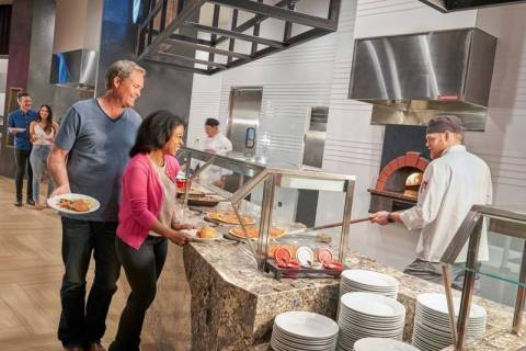The Market Place Buffet will reopen Thursday, Aug. 26, 2021, for the first time since the COVID ...