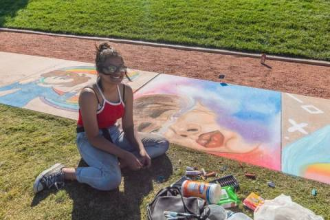 The fifth annual juried chalk art competition, Chalk & Cheers is planned for Sept. 25, at Skye ...