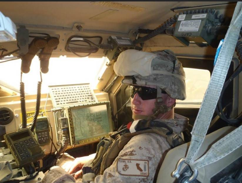 Marine Corps 1st Lt. Shamus Flynn poses for a picture in August 2011 in Afghanistan. Flynn, 36, ...