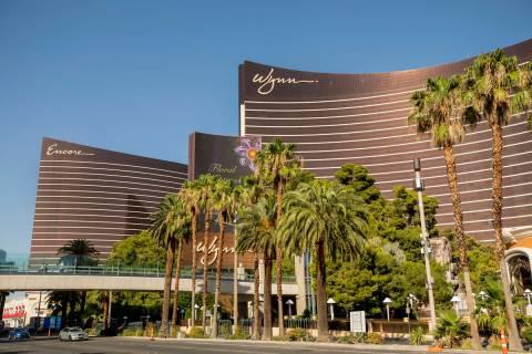 Wynn Las Vegas and Encore along the Las Vegas Strip in Las Vegas. (Las Vegas Review-Journal)