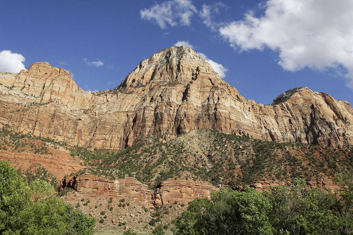Zion National Park near Springdale, Utah. (AP Photo/Rick Bowmer)