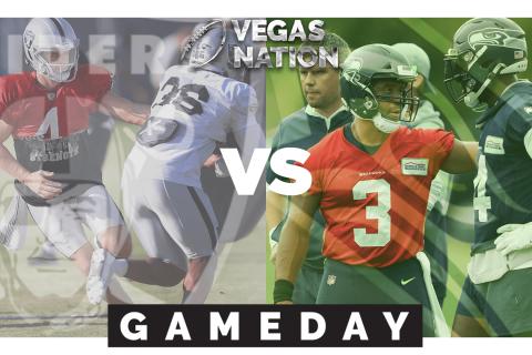 Seahawks @ Raiders   Preseason Week 1   Vegas Nation Gameday