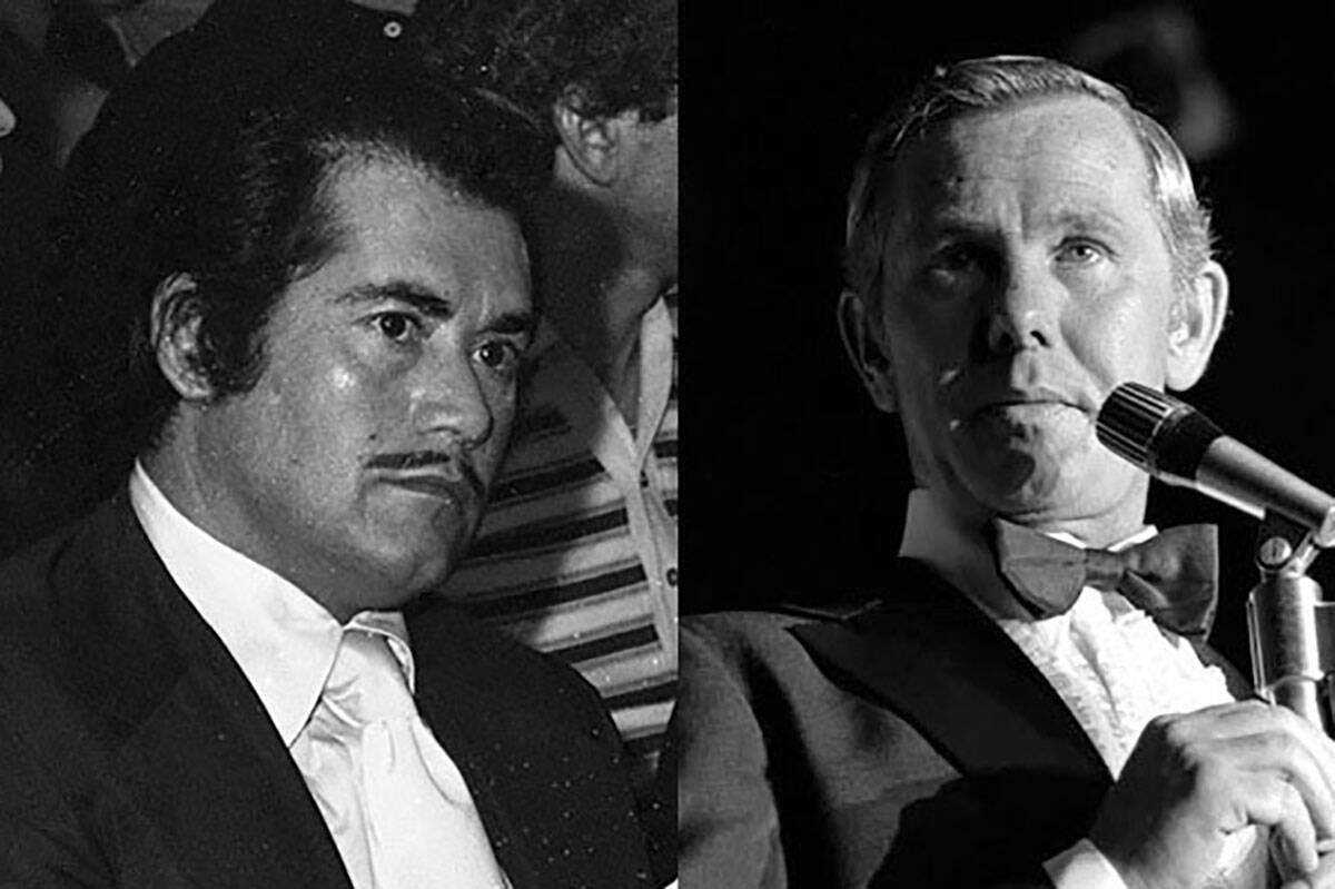 Wayne Newton, Johnny Carson