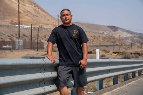 Stephen Lara, a 39-year-old retired Marine, was pulled over in February by a Nevada Highway Pat ...