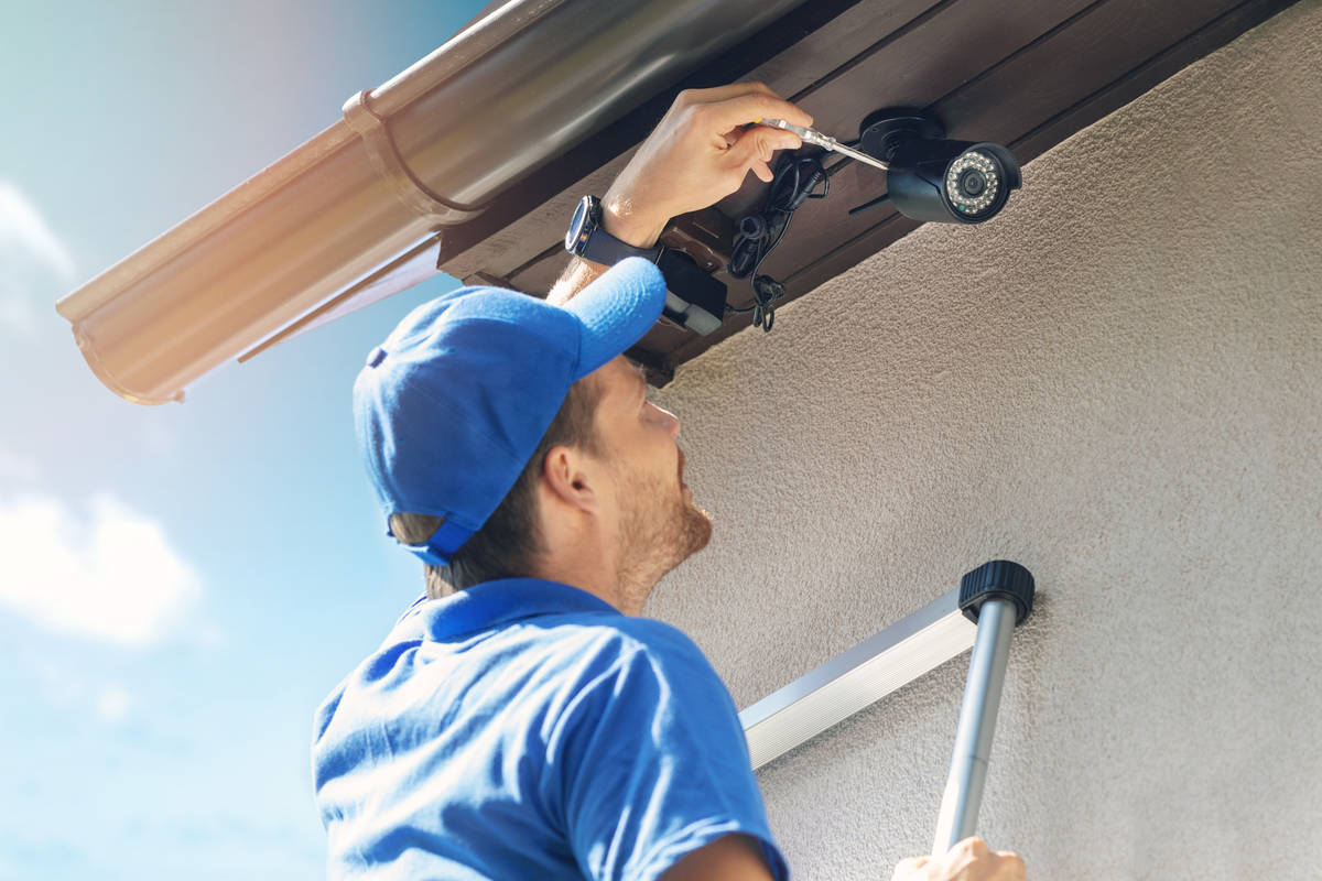 Cameras provide additional security to your home. (Getty Images)