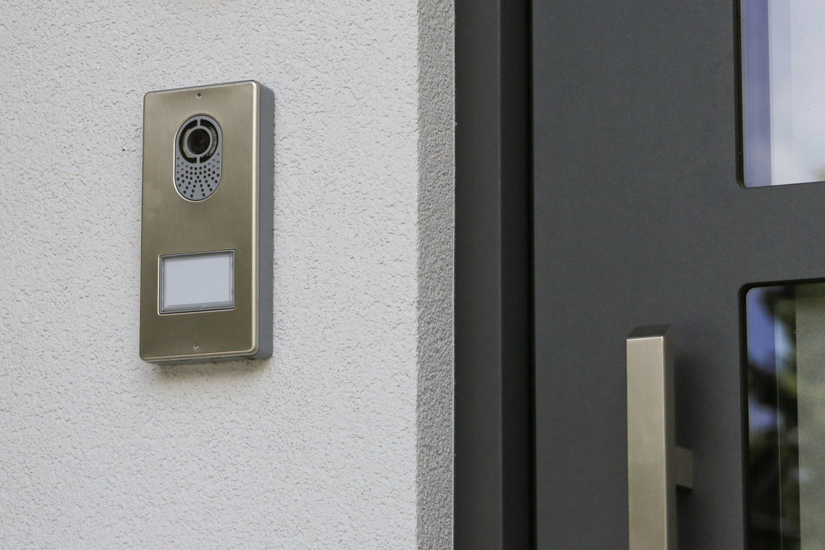 Doorbells like the Ring system have cameras that allow you to see who's at the front door on ...