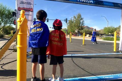 Superheroes of all sizes will be cheering for racers and participating in the Candlelighters Su ...