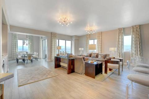 One Las Vegas, on the south end of Las Vegas Boulevard, has sold its last penthouse for nearly ...