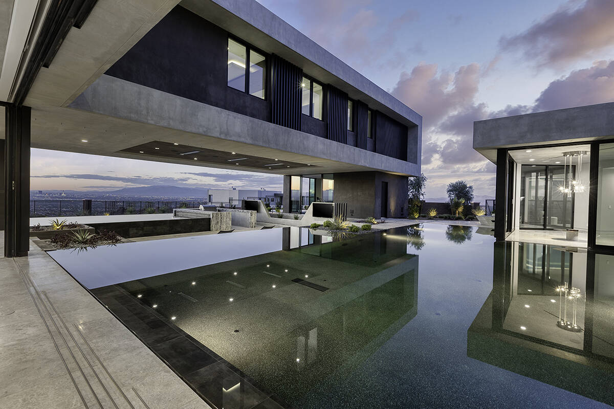 This custom-built home in Henderson kicked off the heated luxury real estate sales leading into ...