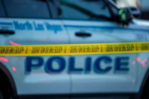 North Las Vegas Police (L.E. Baskow/Las Vegas Review-Journal) @Left_Eye_Images