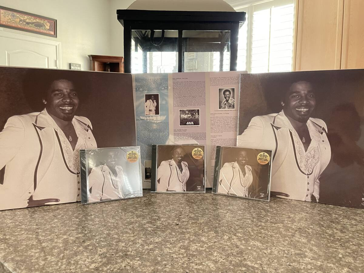 """An Earl Turner song from 1979 is featured on , """"Can You Feel It? Vol. 3."""" (Earl Turner)"""
