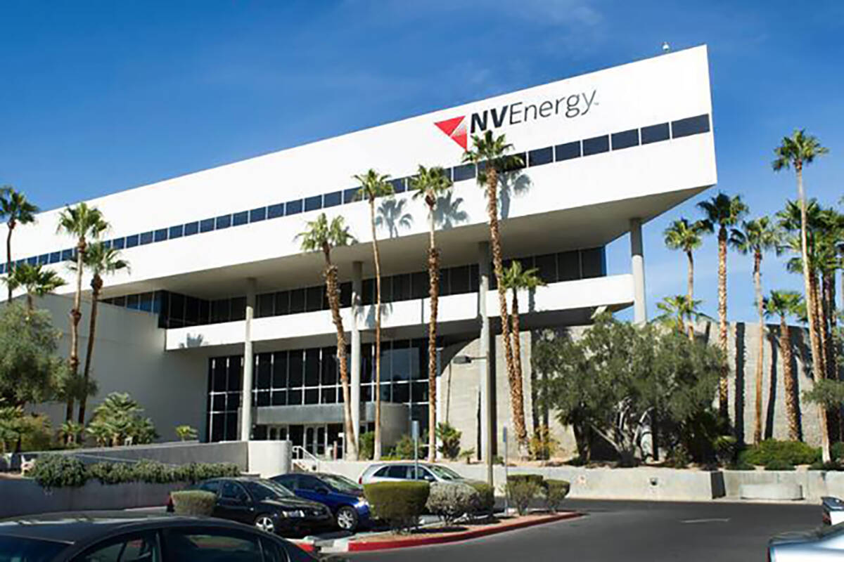 NV Energy building (Review-Journal File Photo)