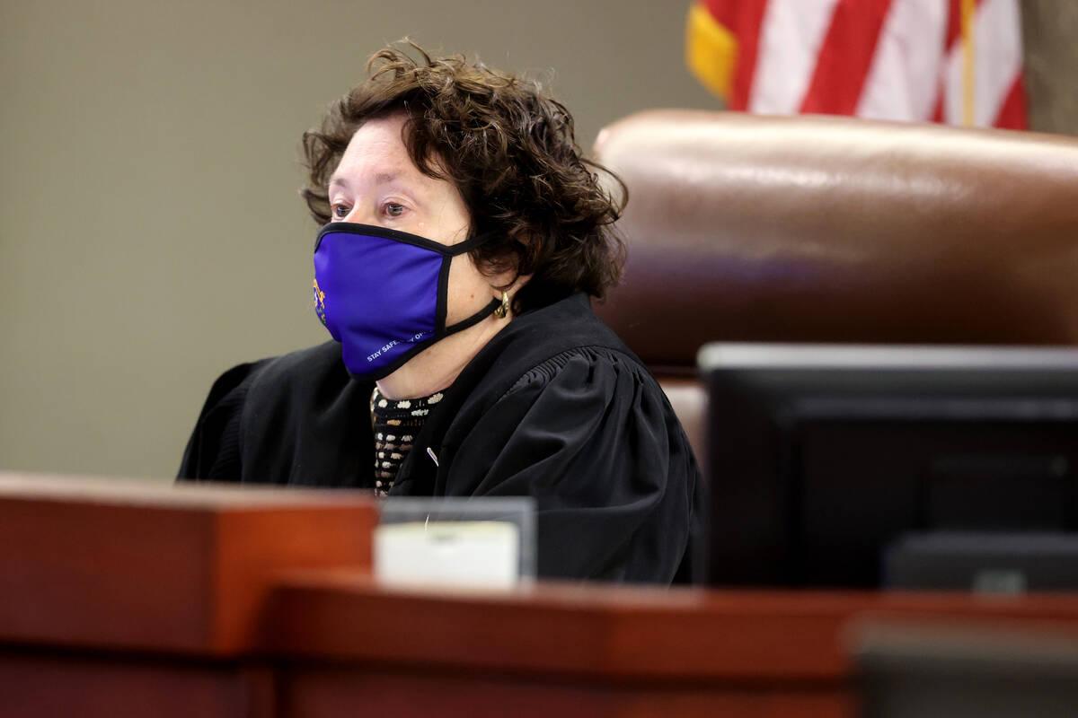 District Judge Elizabeth Gonzalez. (K.M. Cannon/Las Vegas Review-Journal) @KMCannonPhoto