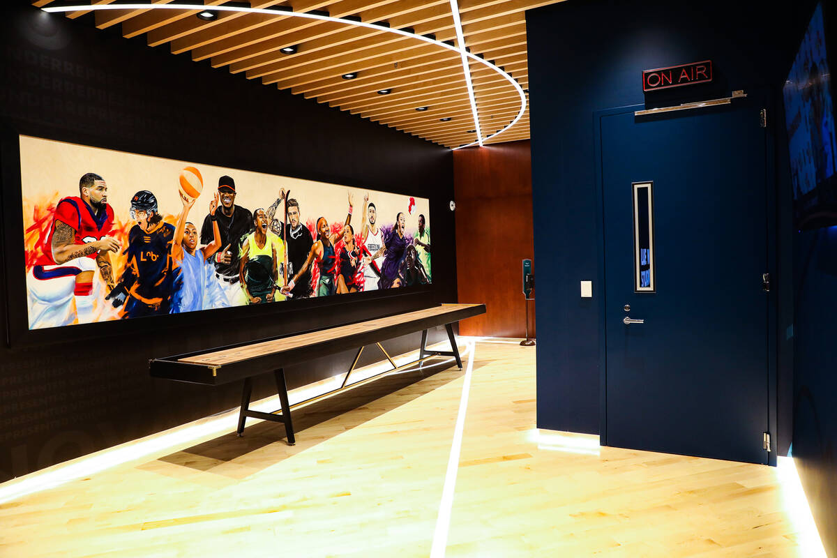 Blue Wire Studios at Wynn Las Vegas, Thursday, Sept. 9, 2021. (Rachel Aston/Las Vegas Review-Jo ...