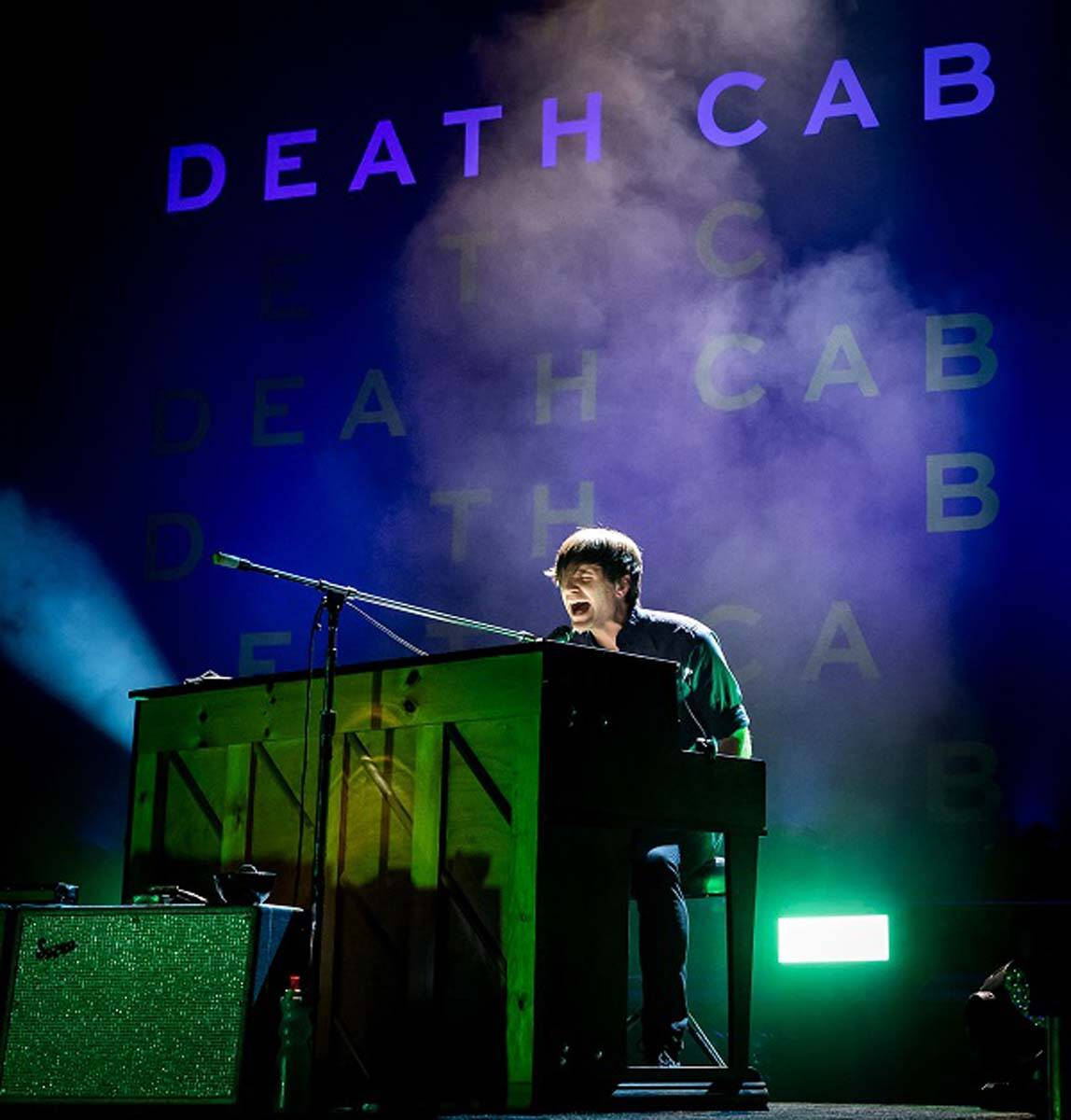 Death Cab for Cutie performs at The Chelsea at The Cosmopolitan of Las Vegas on Friday, March 1 ...