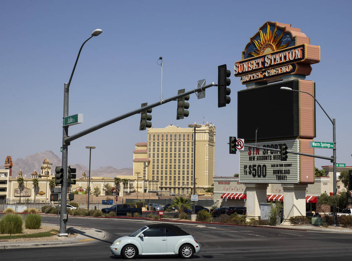 Sunset Station is shown, on Wednesday, Sep. 15, 2021, in Henderson. A developer has drawn up pl ...