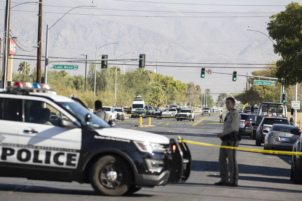 The Metropolitan Police Department is investigating a fatal crash near East Lake Mead Boulevard ...