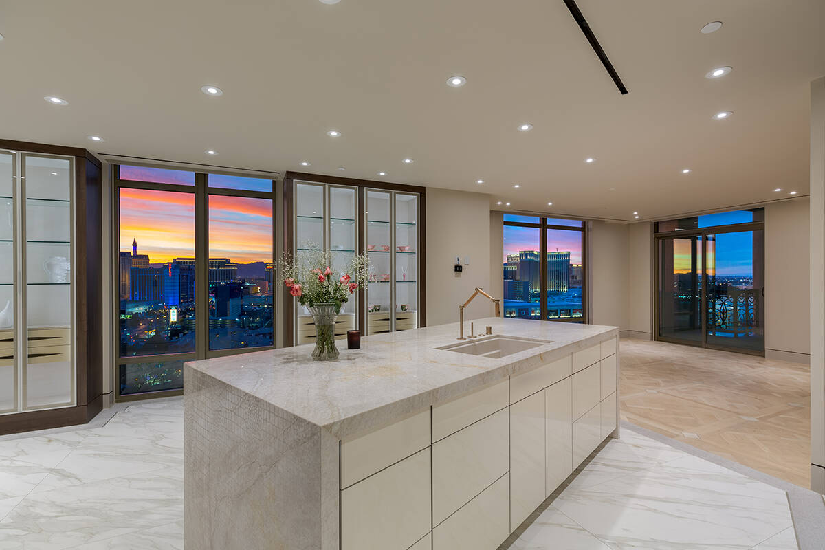 Prominent Las Vegas resident Susan Greenspun Fine sold her penthouse she's had at the 20-stor ...