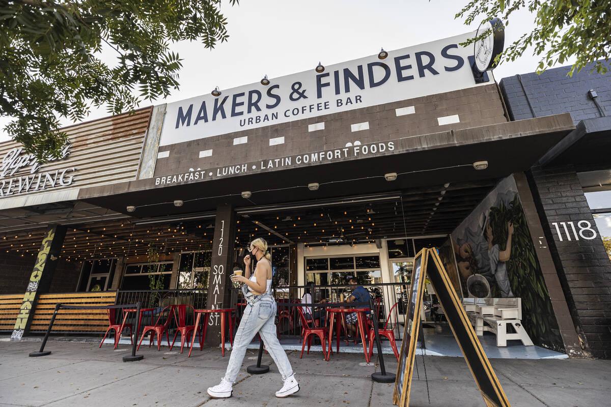 Makers & Finders on Wednesday, Sept. 15, 2021, in Las Vegas. (Benjamin Hager/Las Vegas Revi ...