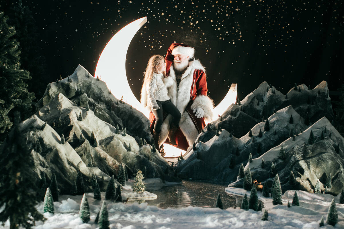 A new Christmas village and light maze are slated to bring holiday cheer to Las Vegas this wint ...
