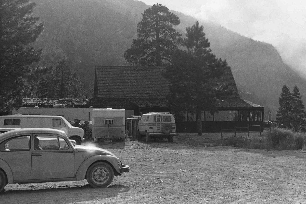 Mount Charleston Lodge pictured in July 1981. (Review-Journal file)