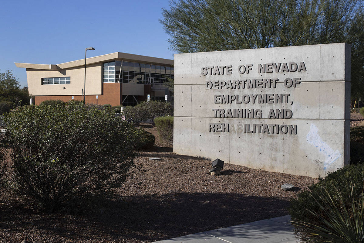 The State of Nevada Department of Employment, Training and Rehabilitation Center in Las Vegas. ...