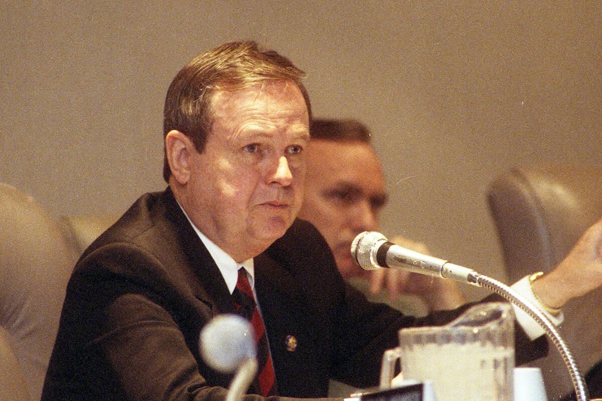 U.S. Rep. James Bilbray has died, Gov. Steve Sisolak said Sunday in a tweet. (Las Vegas Review- ...